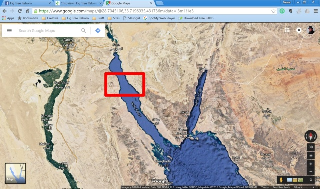 Red Sea False Locations